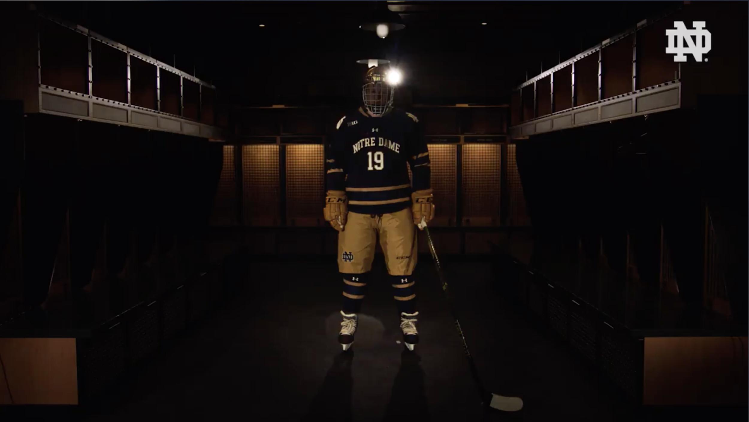 Notre Dame Hockey Special Uniform — UNISWAG 525207039