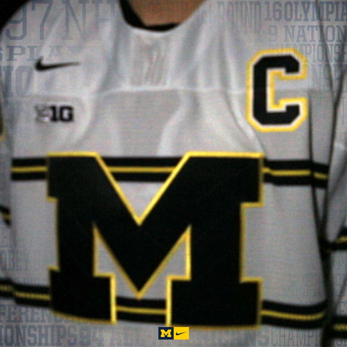 Michigan Hockey s Winter White Uniform — UNISWAG 1f3301e8c