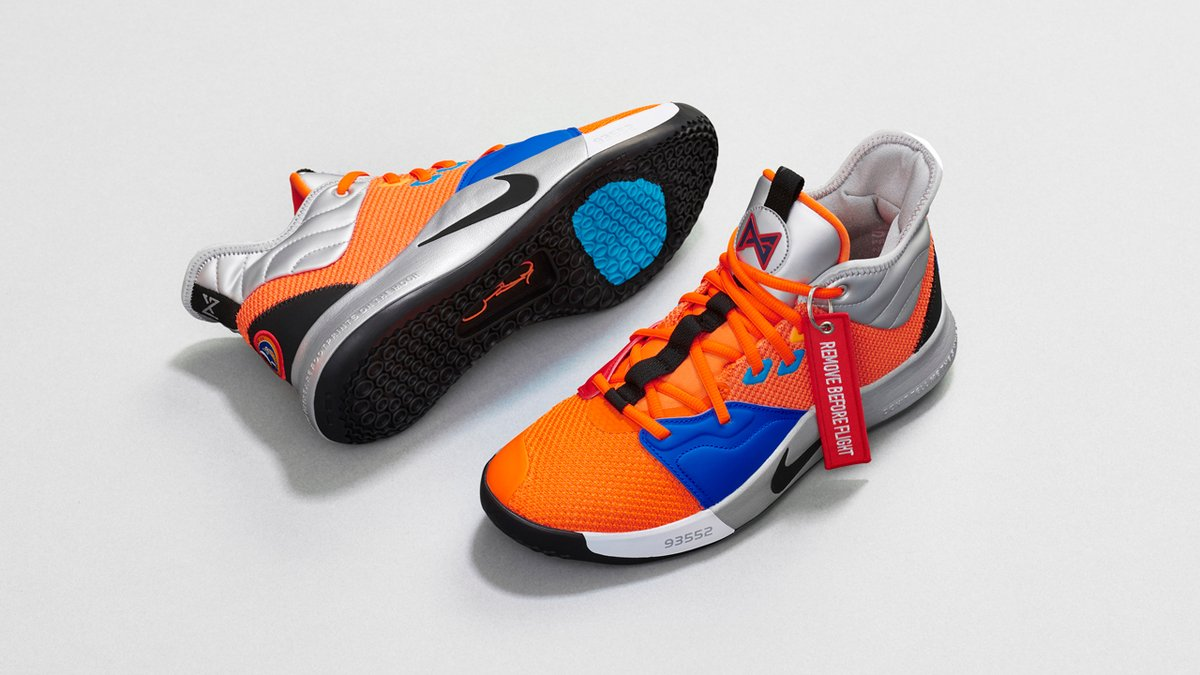a2194b34c76 Paul George s PG 3 x NASA Shoes — UNISWAG
