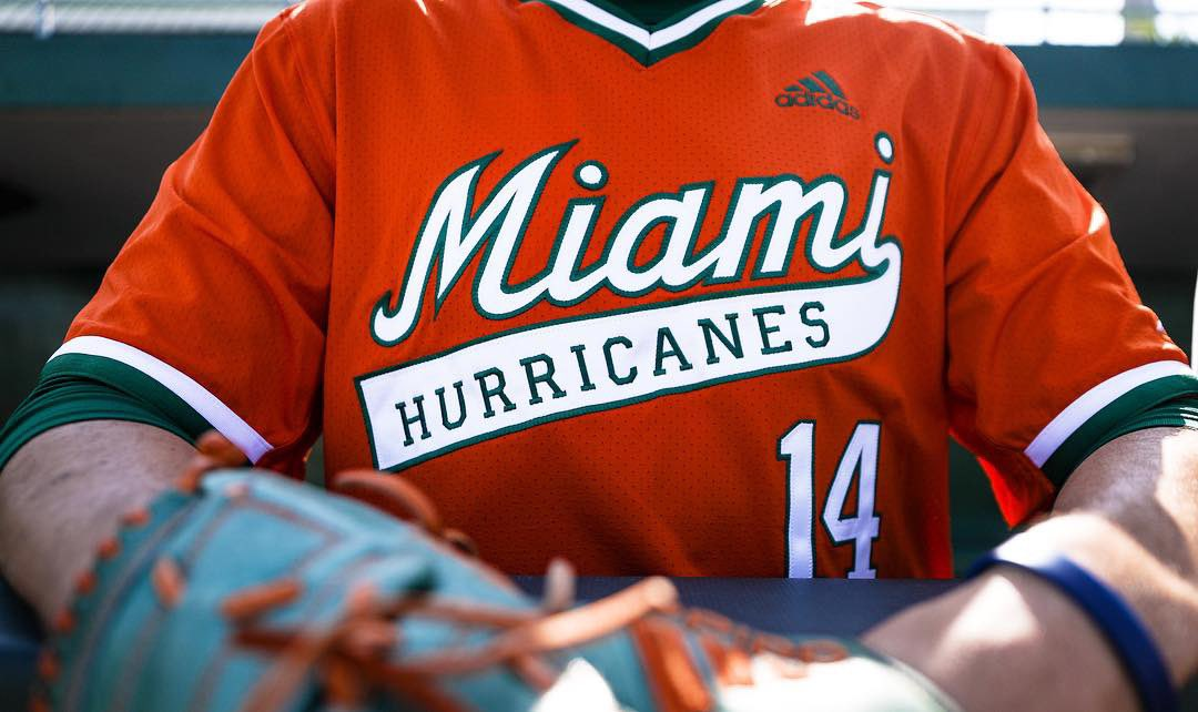 Miami Hurricanes Baseball Jersey Off 70 Kaytek Ydk Com Tr