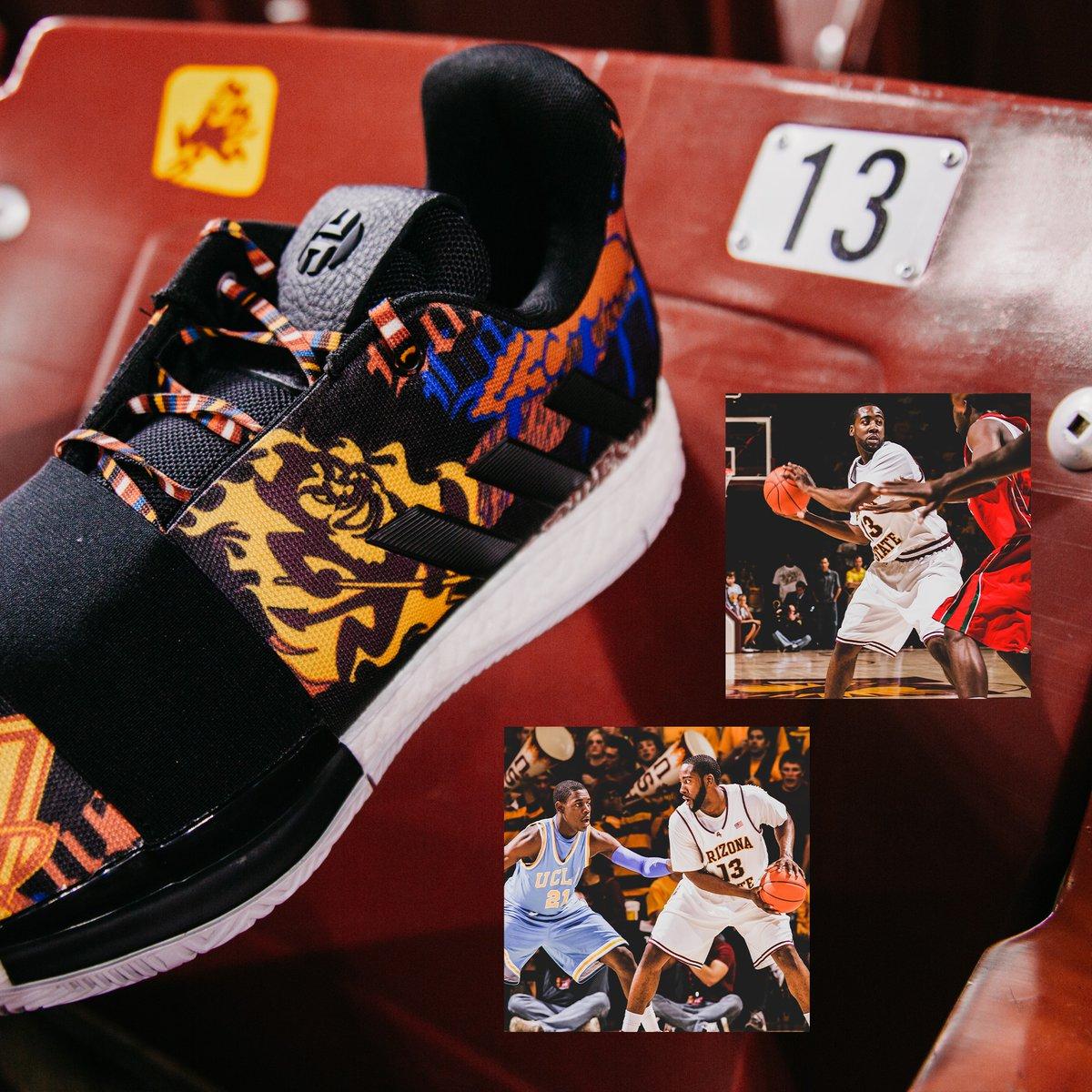 8b67f90d13da Arizona State Basketball Harden Vol. 3  Journey  Kicks — UNISWAG
