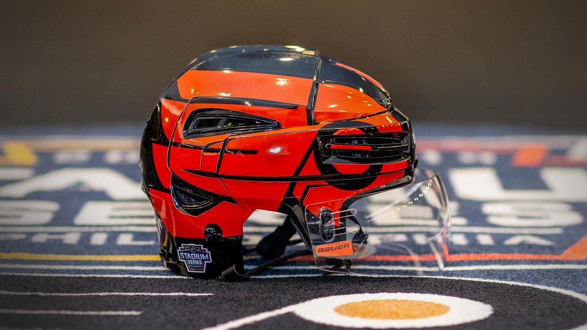 Penguins   Flyers Stadium Series Helmet — UNISWAG 506c6c53a