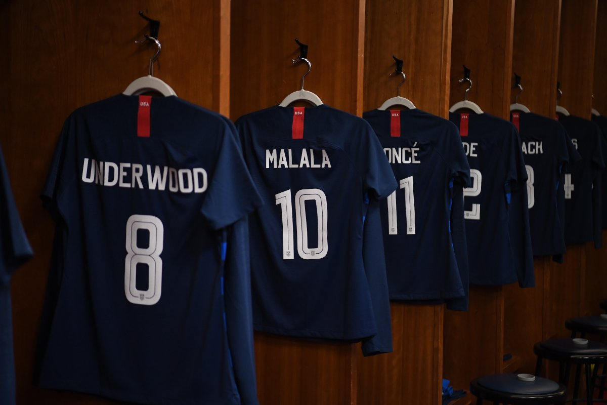 Special Jerseys for U.S. Women s National Team — UNISWAG 58291cf02