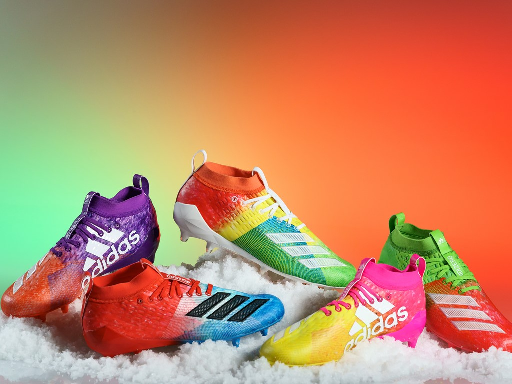 "2ba6d5519 adidas Special Edition ""SNOW CONE"" Cleats — UNISWAG"