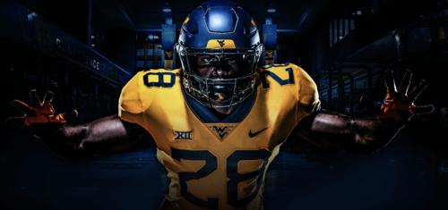 862d056192c New West Virginia Football Uniforms