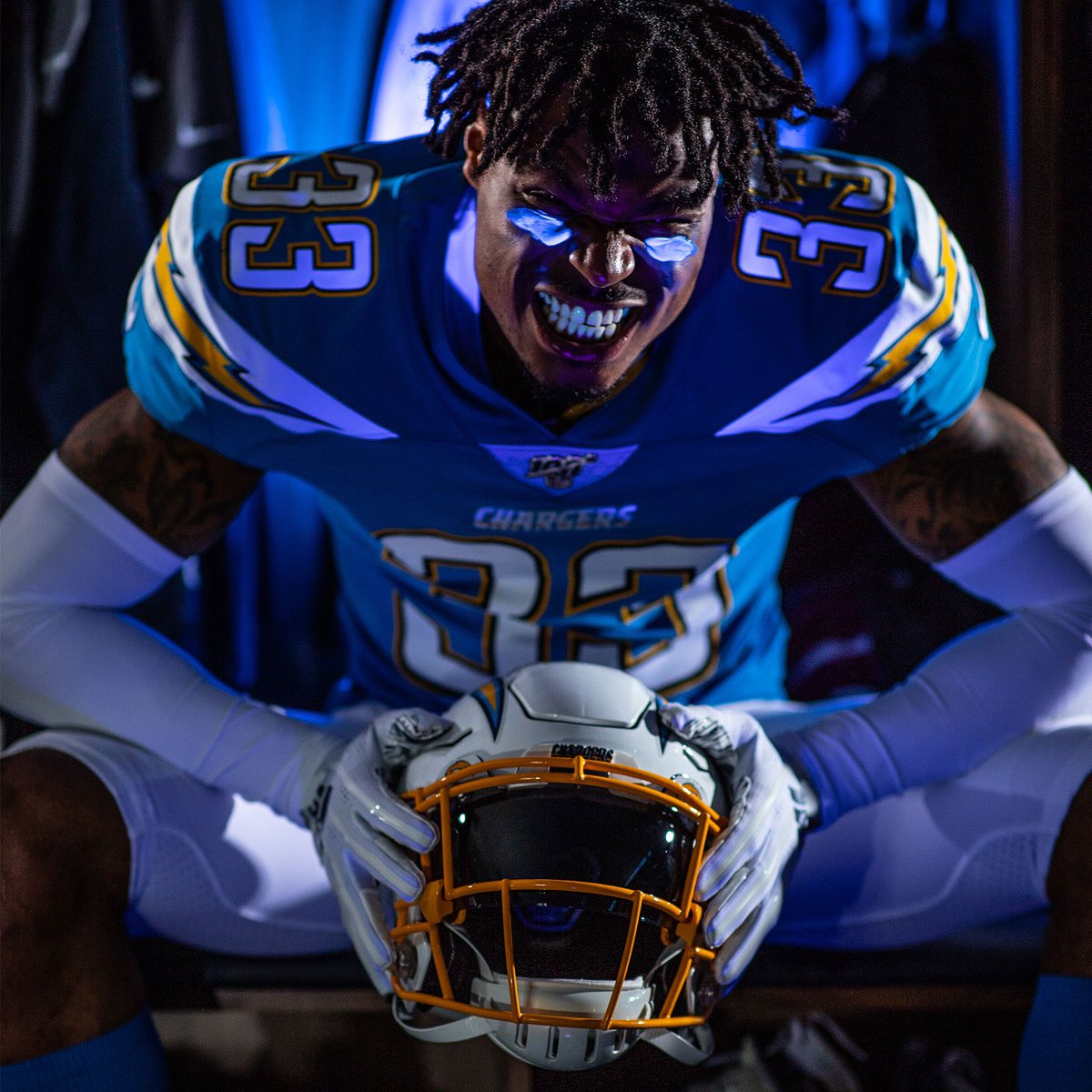c944fb73 Chargers' New Primary Powder Blue Jerseys — UNISWAG