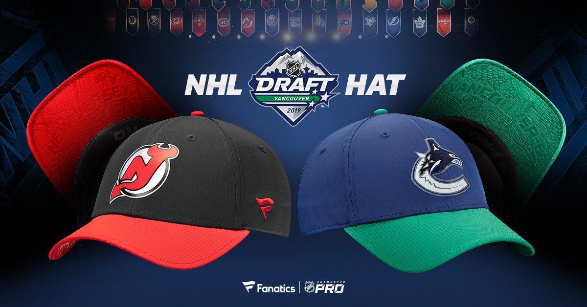 finest selection dca9f d146d 2019 NHL Draft Hats · Hockey