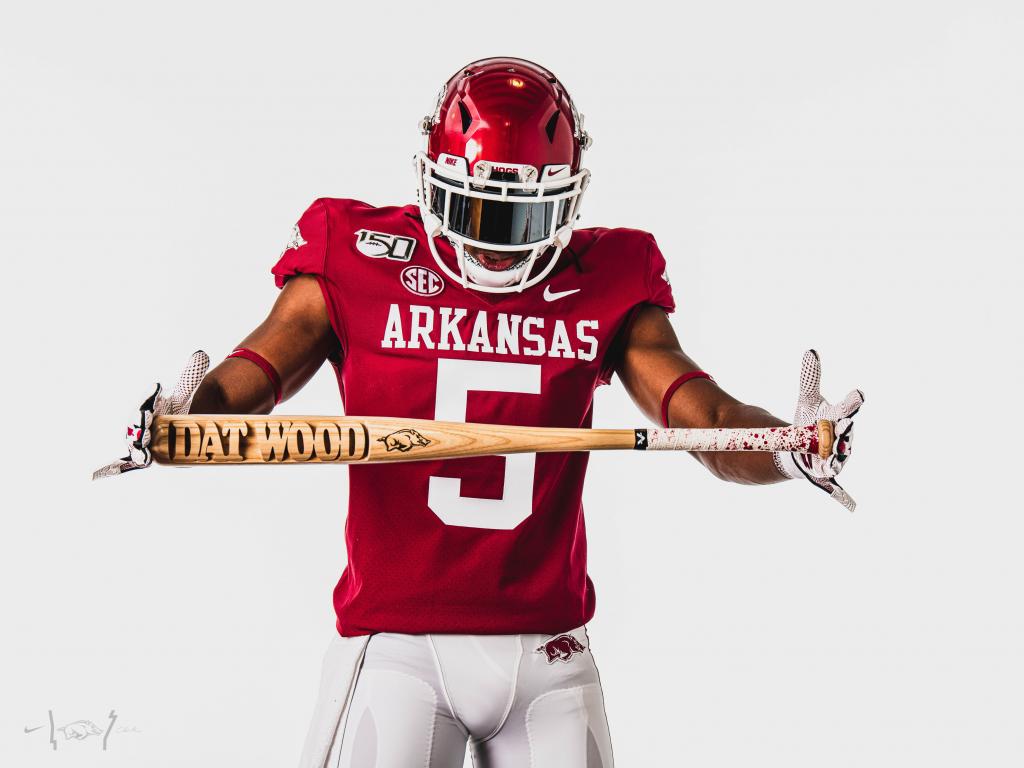 Arkansas New Football Uniforms UNISWAG