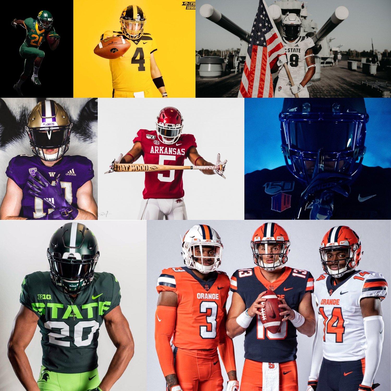 online retailer d39d6 21030 2019-20 College Football Uniform Preview — UNISWAG