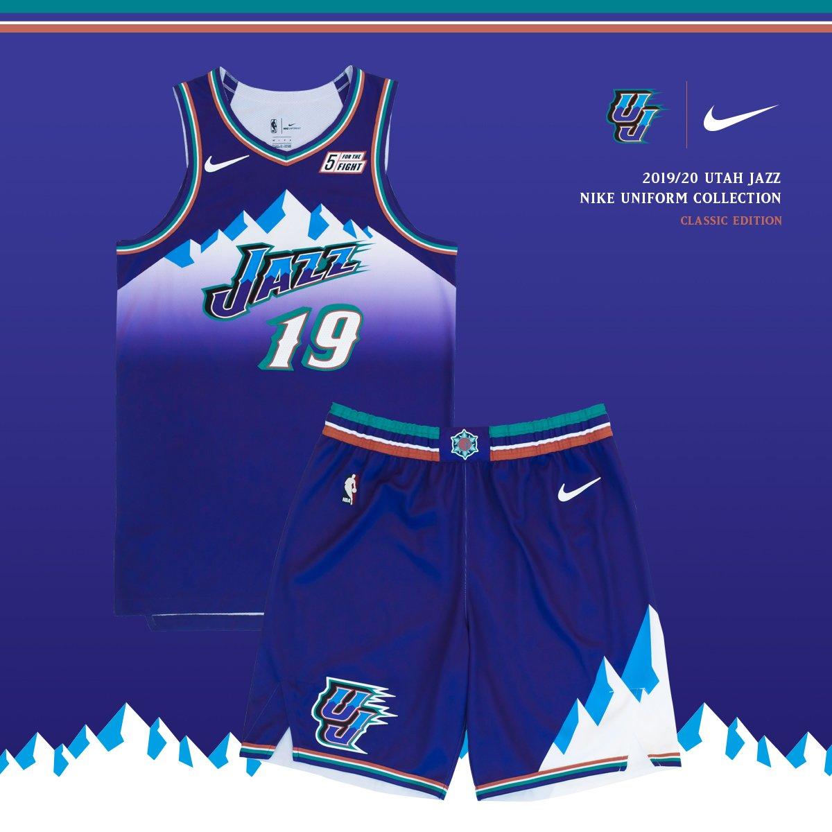 the latest 87573 b0d4a Utah Jazz 'Classic Edition' Uniform — UNISWAG