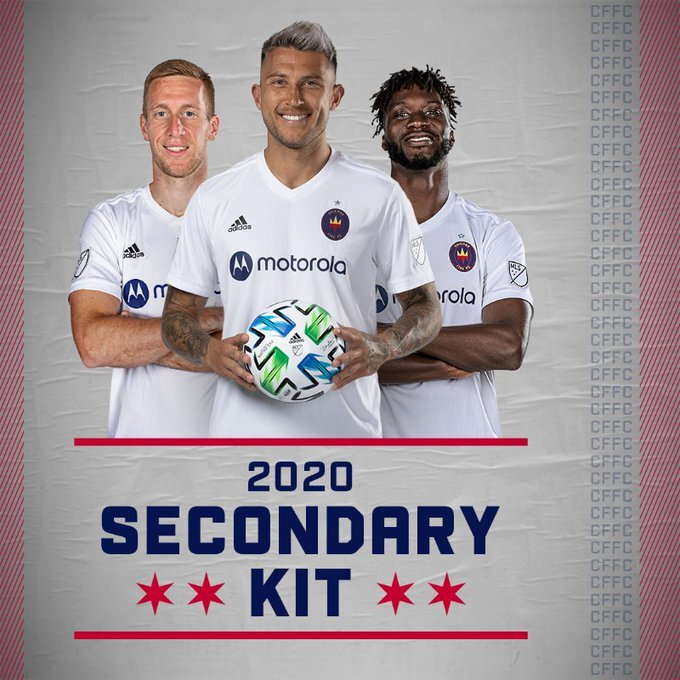 Chicago Fire Fc Secondary Kit Uniswag