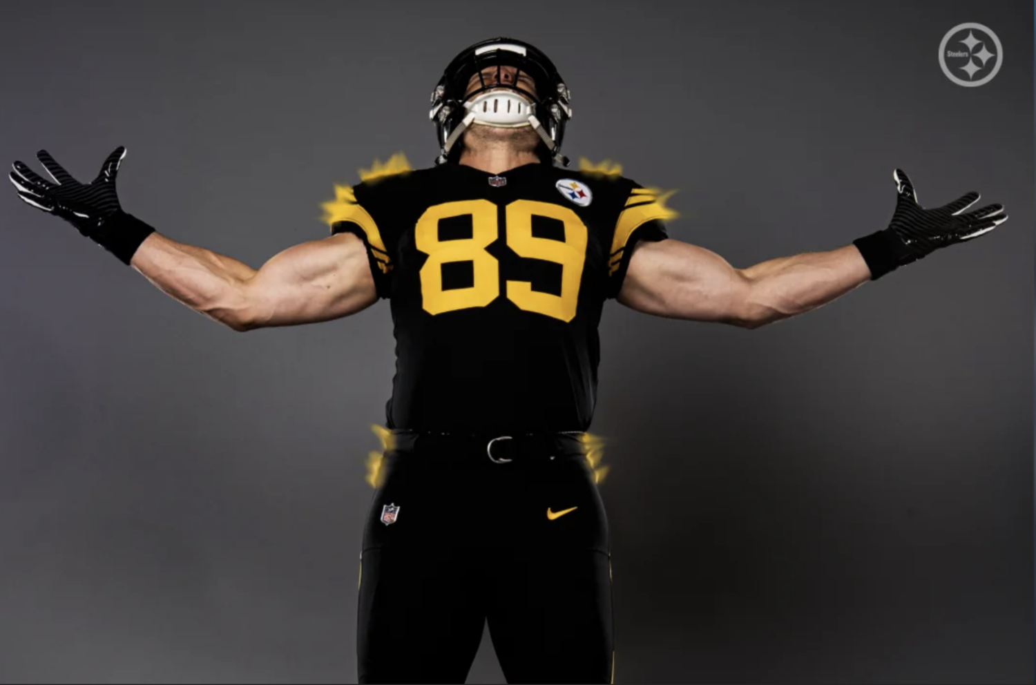 brand new 35679 b2f73 Steelers Color Rush Uniform — UNISWAG