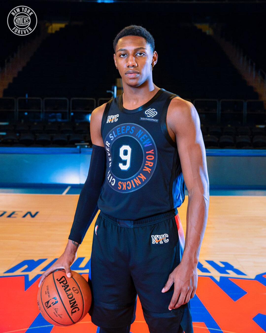 2020-21 New York Knicks City Edition Uniform — UNISWAG