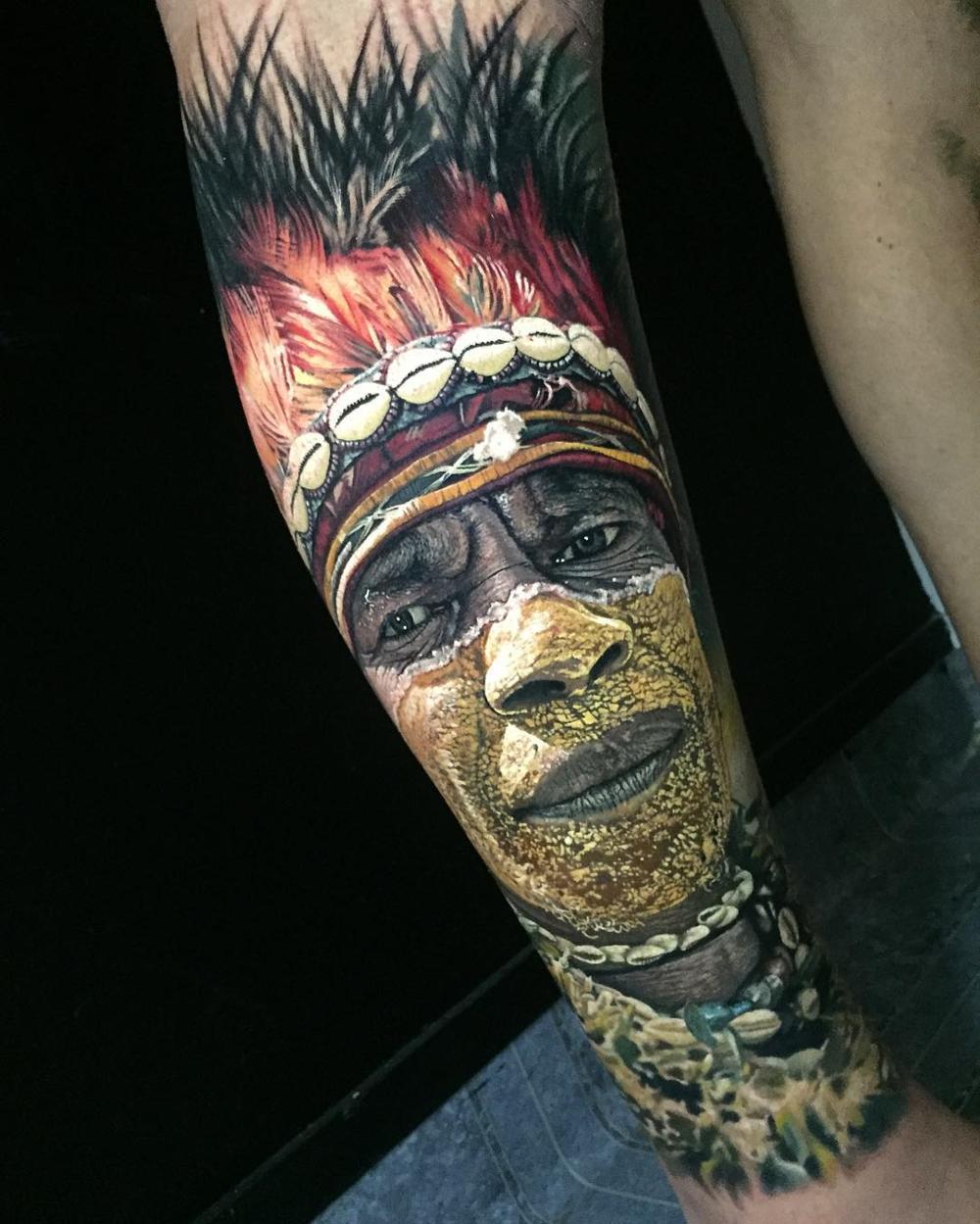 Tattoo Ideas Realism: Steve Butcher