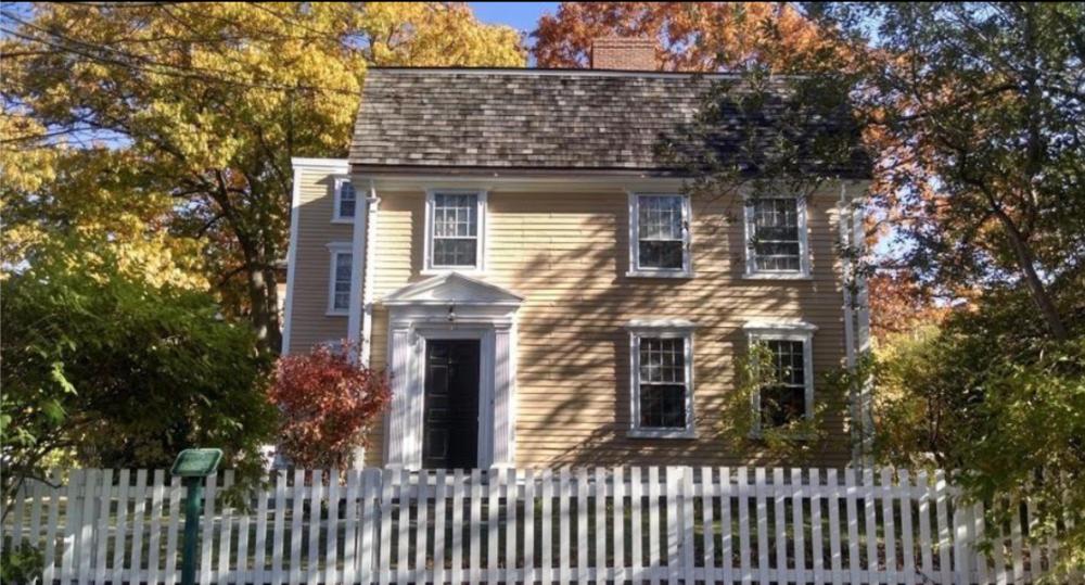 The Edward Devotion House, Brookline MA