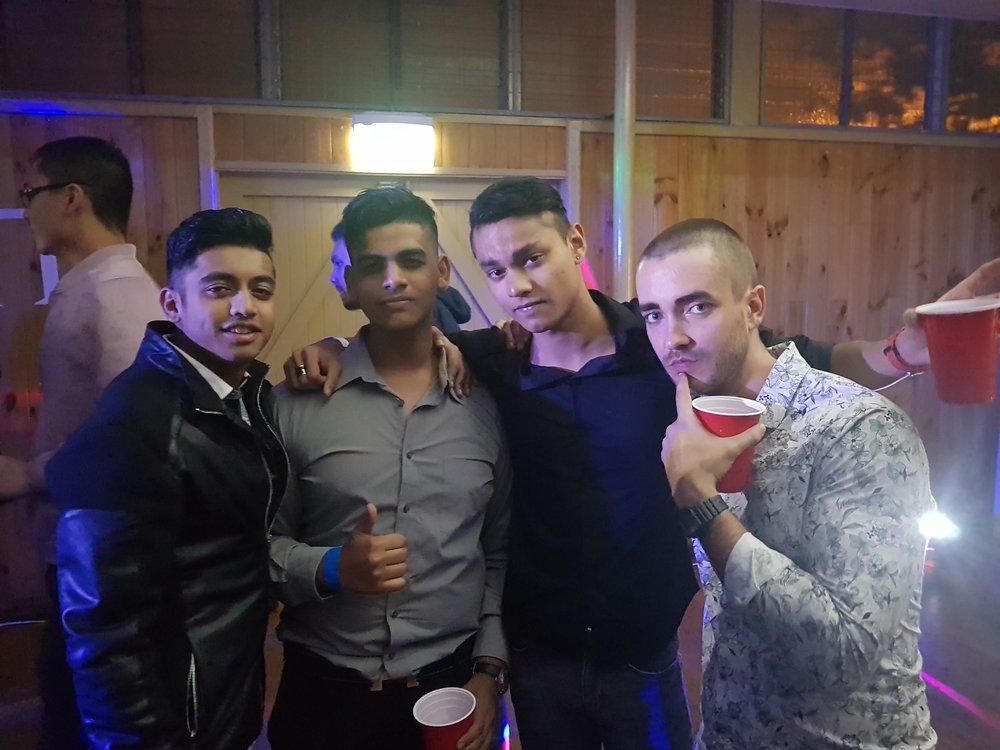 Aditya Bajekal, Harish Parimalam, Craige Gabriel, and Clancy Payne