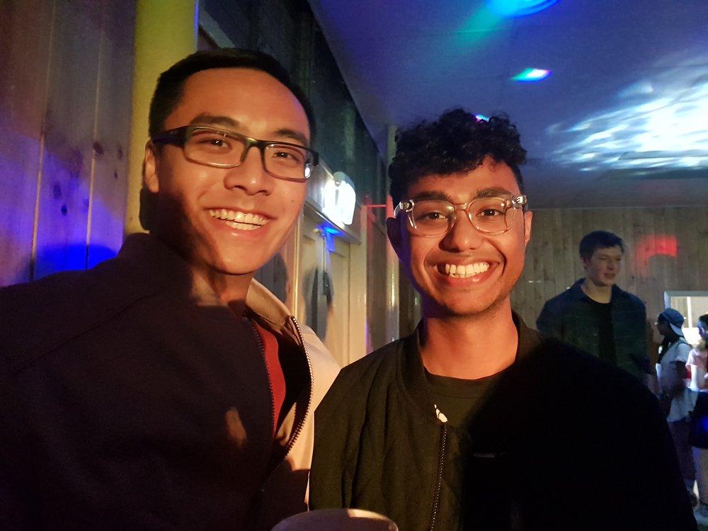 Douglas Khoo and Rueben Kantahrao