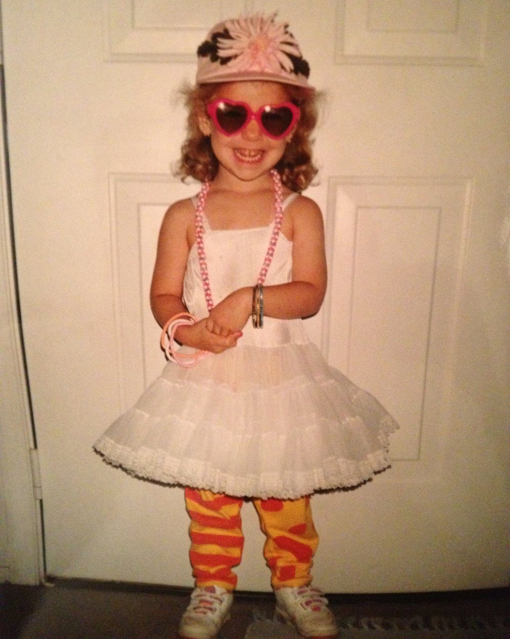 Obsessed with clothes & dress-up since the beginning