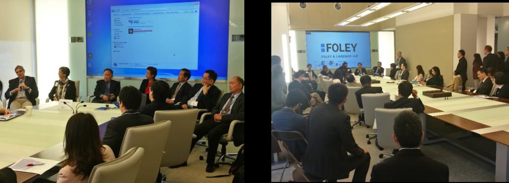 CEO和投资论坛:左(嘉宾回答观众提问); 右(现场气氛热烈)