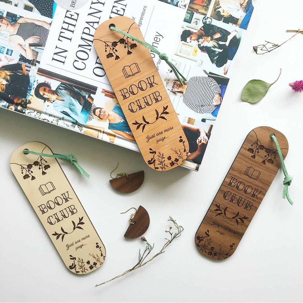 Lasercut bookmarks by Ellebrux