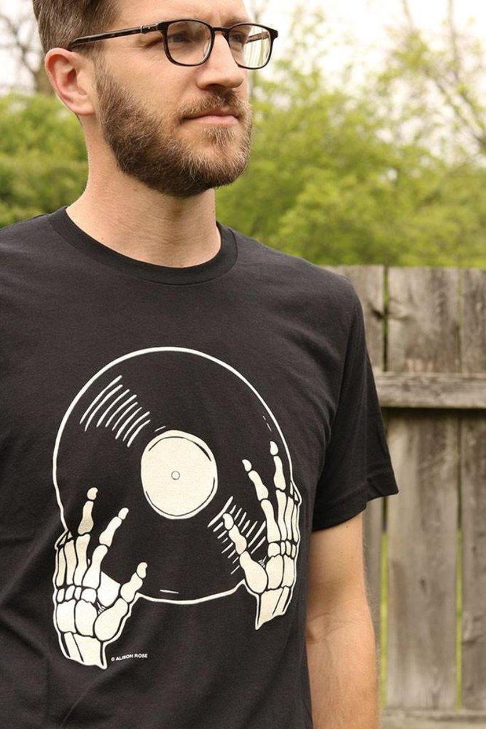 Vinyl is Not Dead Tee