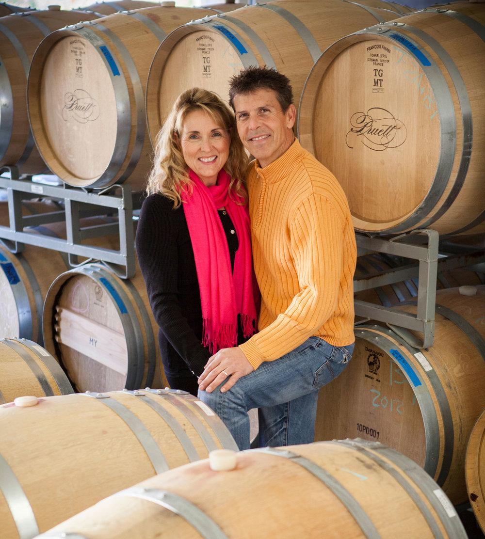 Scott Pruett and wife Judy