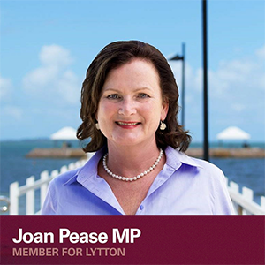 Joan Pease MP