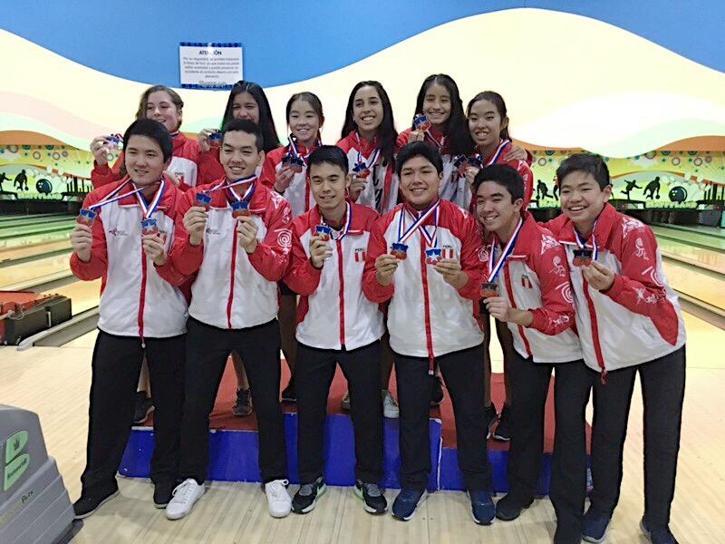 Delegación Medallera - Gran participacion de nuestros atletas en el sudamericano juvenil. Todos obteniendo una medalla. A la fecha, este ha sido la mejor participacion en un torneo internacional de nuestra delegación. El futuro del bowling está asegurado!