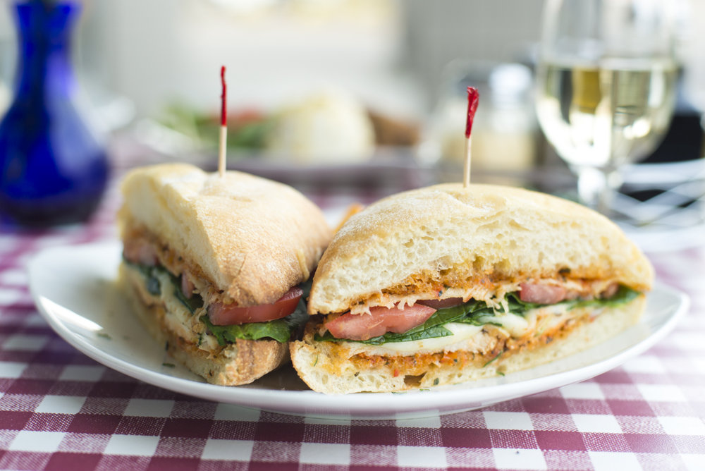 Parmigiana Chicken Sandwich