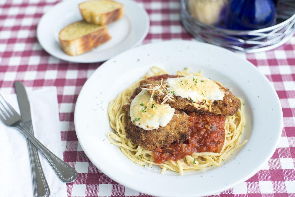 Chicken Parmigiana