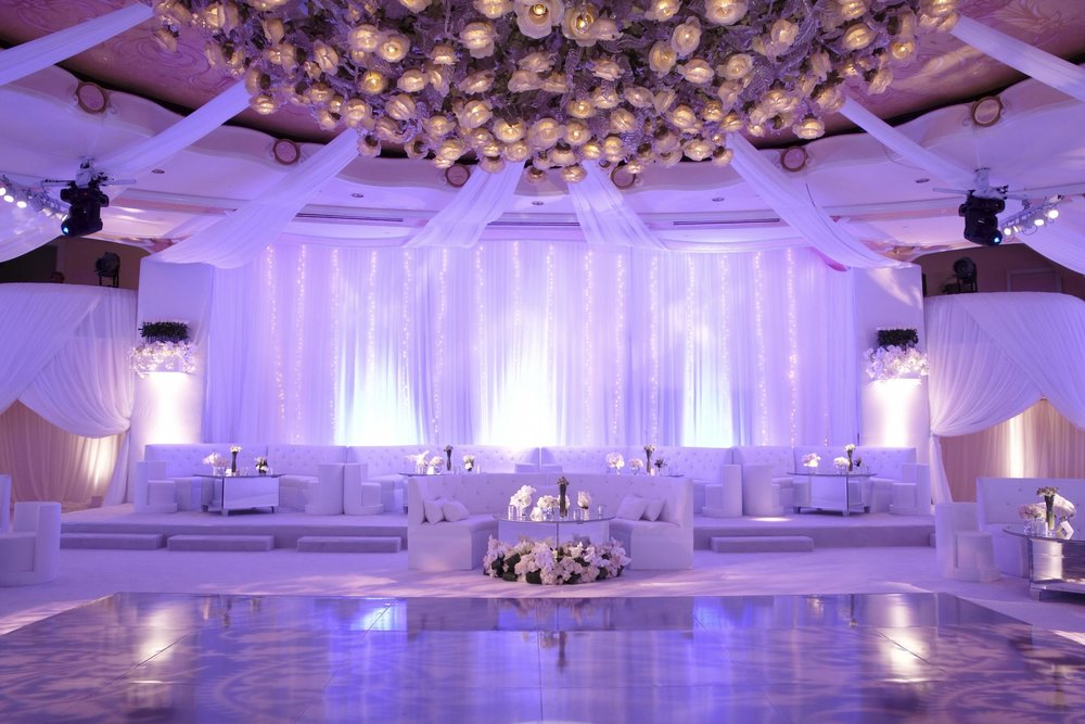 Room Up Lighting - Room Up Lighting creates a stunning transformation of your venue that can make any room look and feel spectacular. Lights are placed strategically around the room and on the floor to highlight pillars and walls, in the colour of your choice.