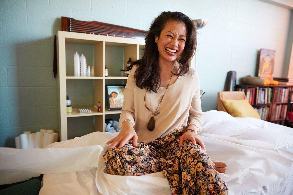 A community. A Tea house. A place of healing. A place of magic. - Inbal, Art teacher in San Francisco
