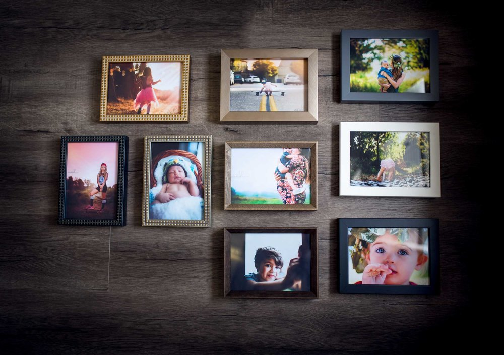 Framed Prints - My frames are made by people, not machines in Portland, Oregon. The archival construction and considered style of the frames will without a doubt preserve your photographs and beautifully accent any decor. Framed prints begin at $125 and are ready to display and add life to your home.