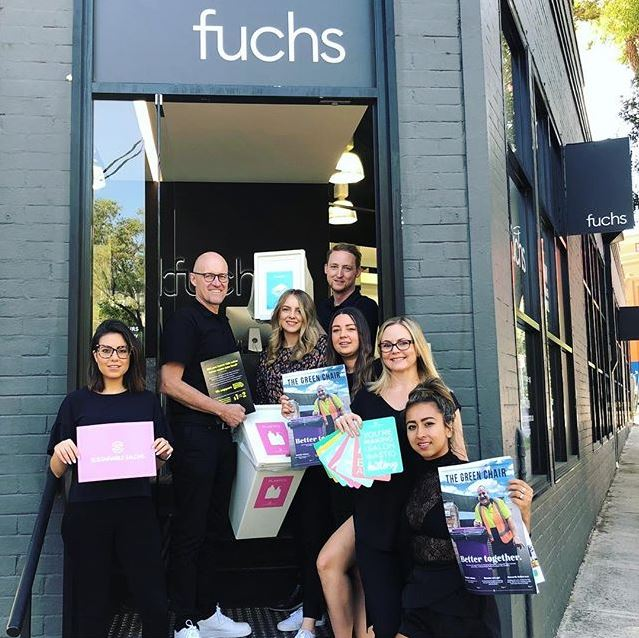 Fuchs Hair joins SUSTAINABLE SALONS AUSTRALIA
