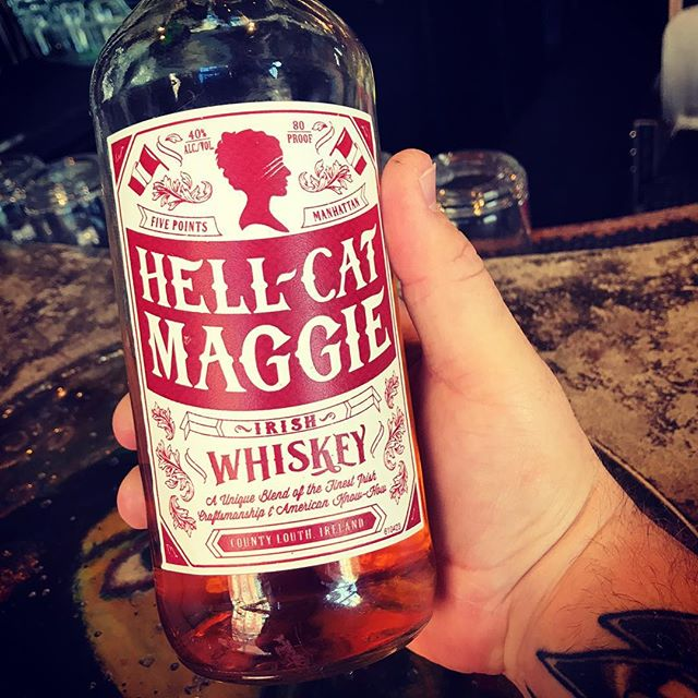 Hellcat Maggie was a well-known criminal in Manhattan's Five Points district and a member of the Dead Rabbits gang. She was a fierce street fighter and actually filed her teeth and nails into points to better shred her opponents skin.  #hellcat #maggie #whiskey