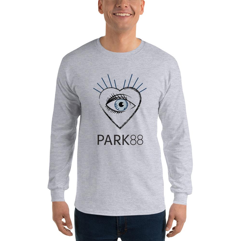 5e366266241 Gildan Men s Ultra Cotton Long Sleeve T-Shirt - 6 Color Choices ...