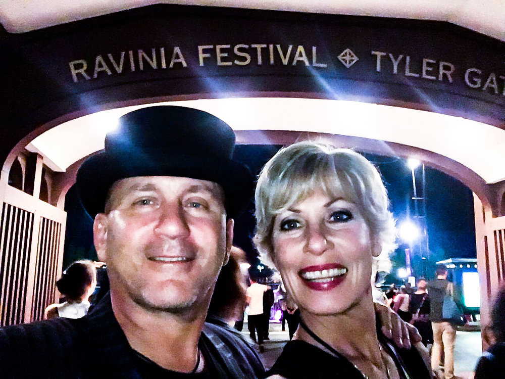 The Ravinia Festival is one huge garden party!