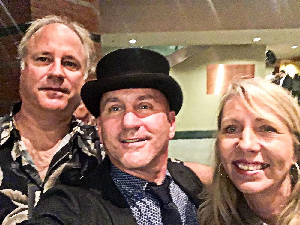 John Haines, Rich and Karen Wassell