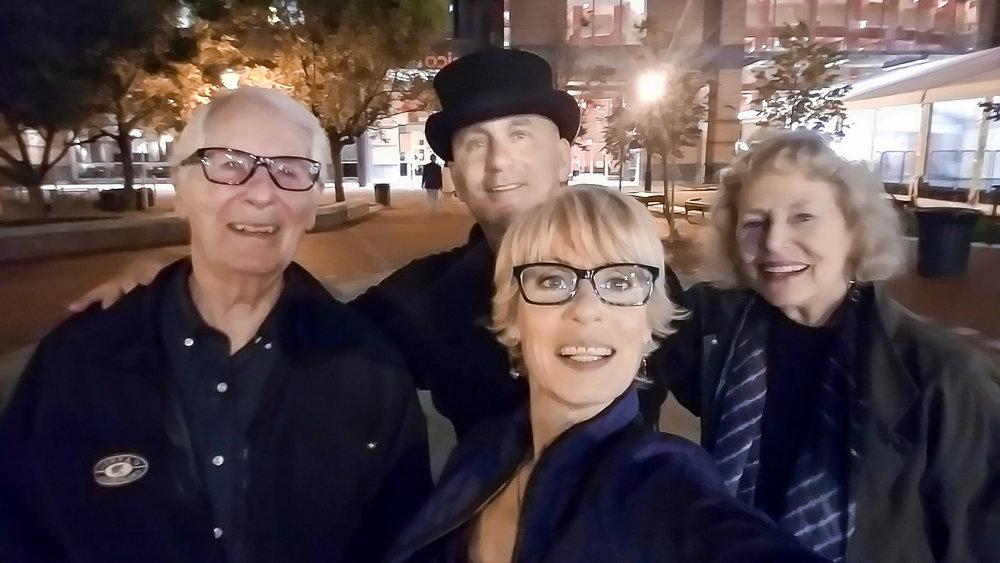 Lisa's mom and dad