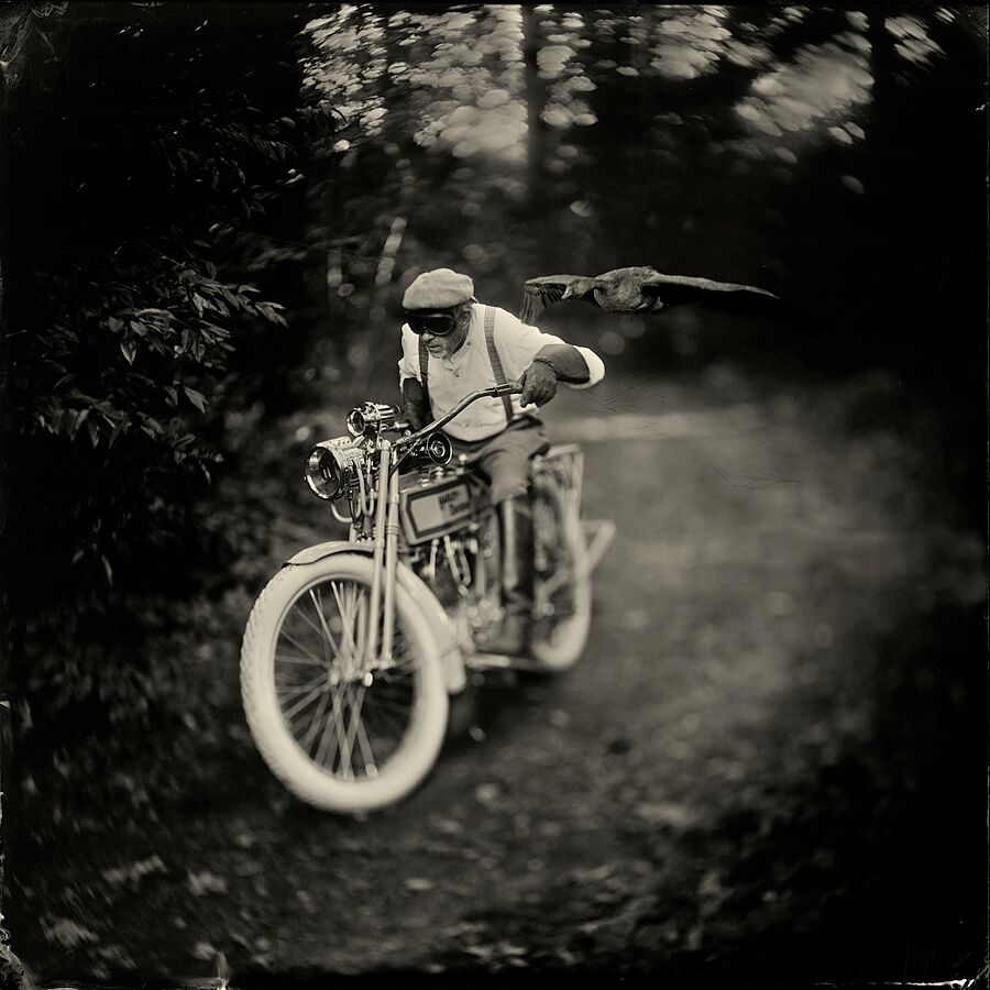 "Alex Timmermans - Alex Timmermans never imagined that a photographic process, which has been invented by Archer more than 160 years ago, was going to have such an influence on his passion for photography. Alex Timmermans, born in 1962, is a self-taught photographer with a strong liking for ancient photographic technique. He practiced photography throughout his whole life, starting with a Nikormat ftn. The change from analog to digital seemed to be a logical step. However, the excitement and magic of films got lost during this change; ""everything became more predictable… too predictable"".This is a selection, for more pictures, please contact The PhotoGallery"