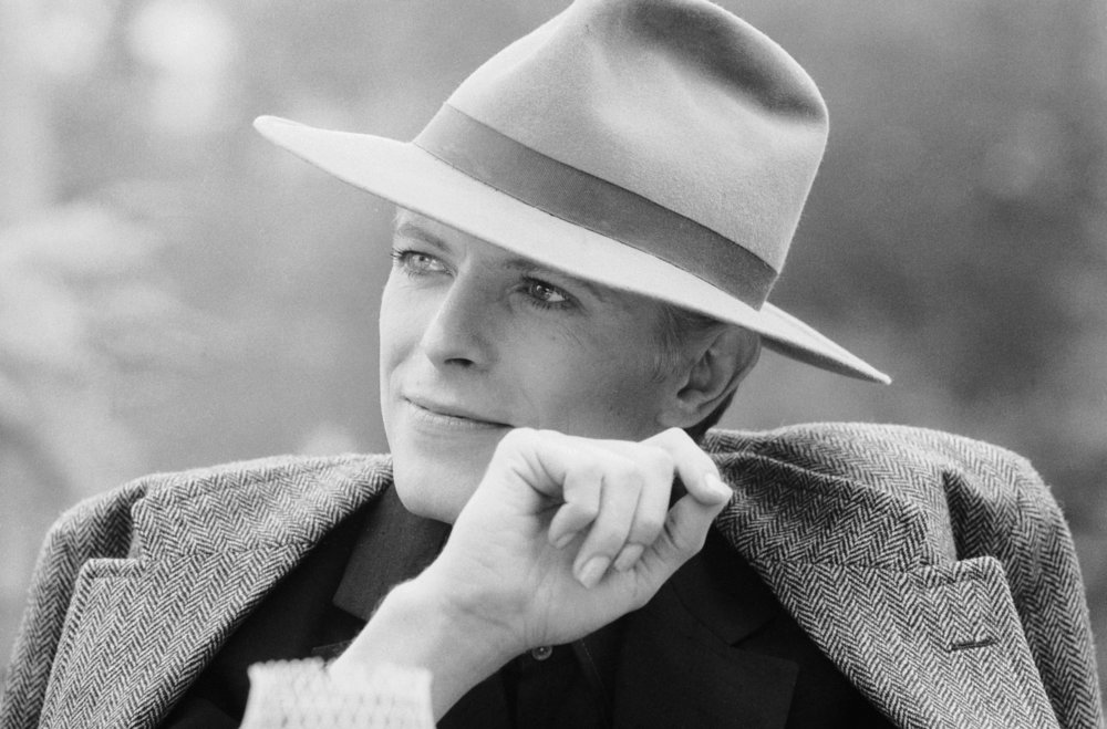 David Bowie with hat by Terry O`Neill  Ed 50, Silver gelatin  Available in several sizes  Price on request