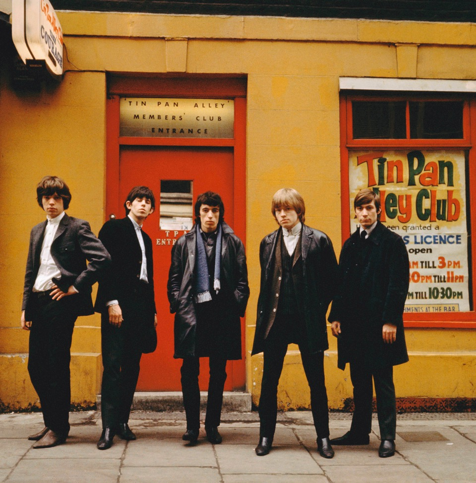 The Rolling Stones, London 1963 by Terry O`Neill  Ed 50, C Print  Available in several sizes  Price on request