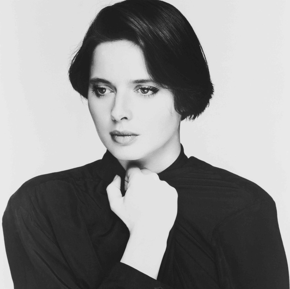 Isabella Rosellini by Terry O`Neill by Terry O`Neill  Ed 50, Silver gelatin  Available in several sizes  Price on request