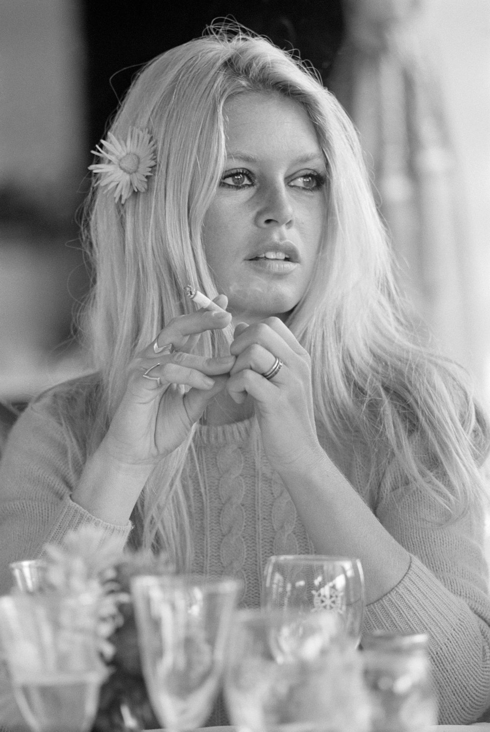 Brigitte Bardot Deauvile 1968 by Terry O`Neill  Ed 50, Silver gelatin  Available in several sizes  Price on request