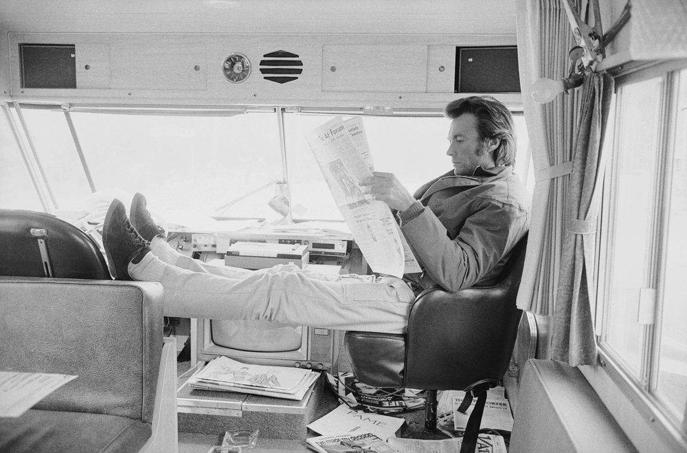 Clint Eastwood by Terry O`Neill  Ed 50, Silver gelatin  Available in several sizes  Price on request