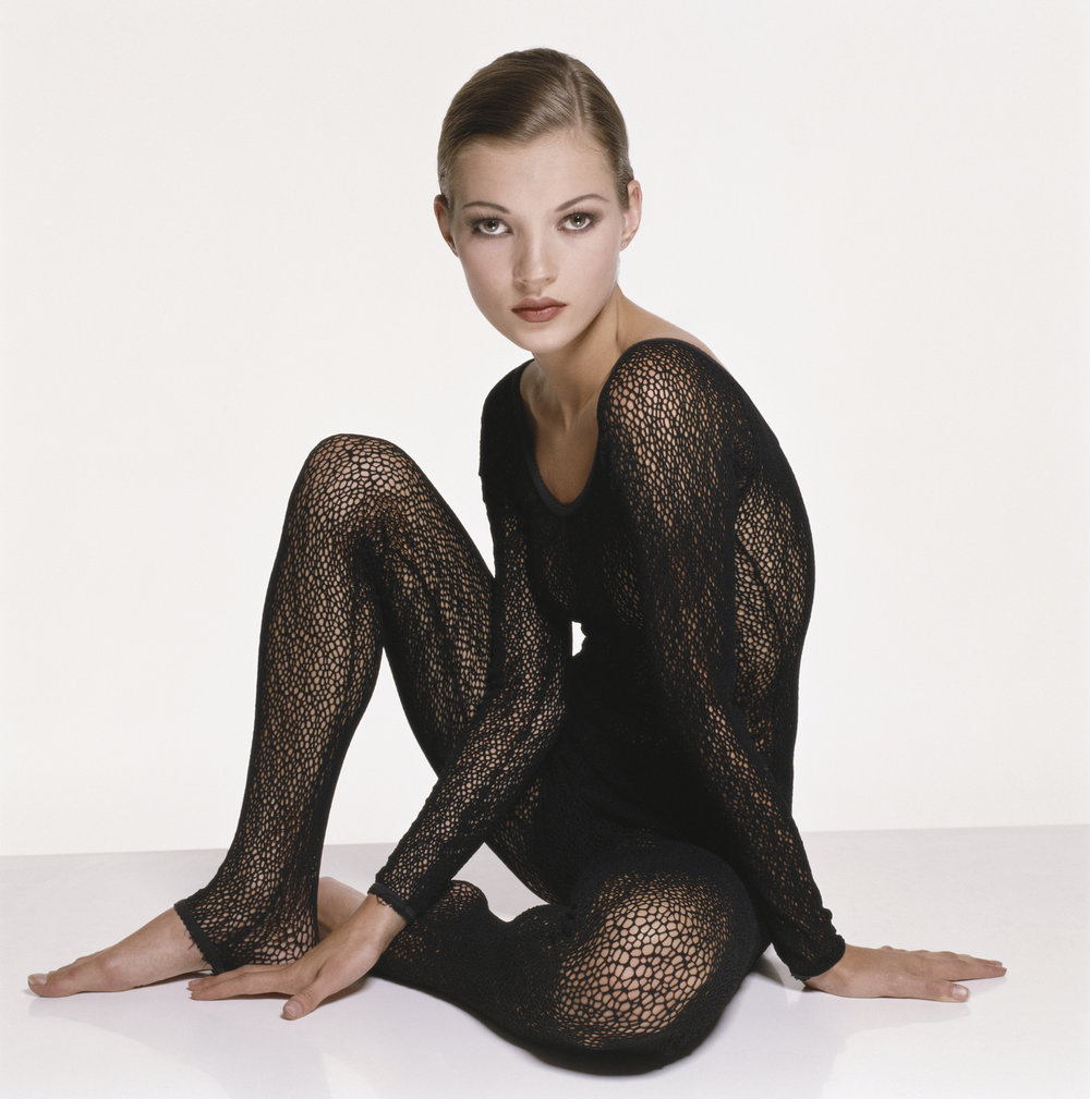 Kate Moss, London 1993 by Terry O`Neill  Ed 50, C Print (Also in B&W)  Available in several sizes  Price on request