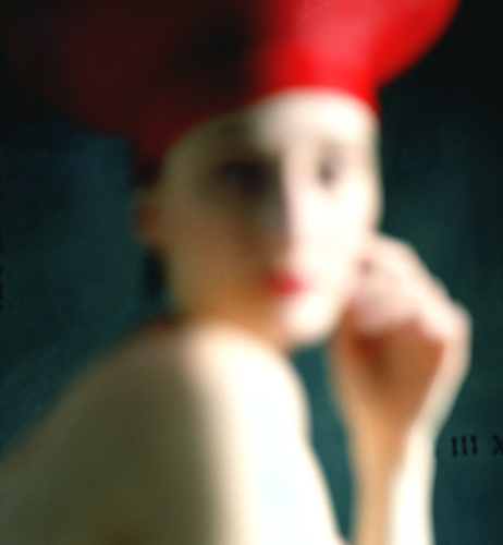 Bernadette red hat by Rodney Smith  Available in 4 sizes  Price from 10000 USD