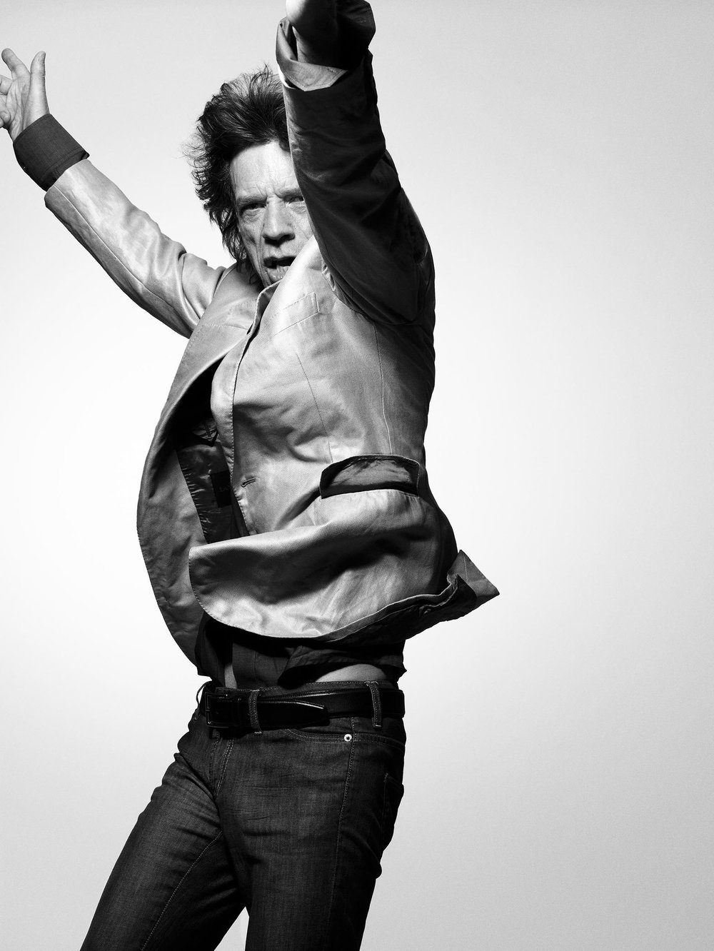 Mick Jagger by Bryan Adams