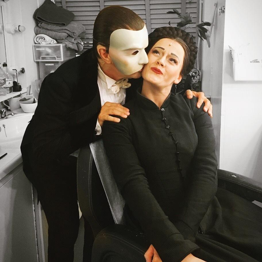 Lizzie Holmes and Scott Davies, The Phantom of the Opera