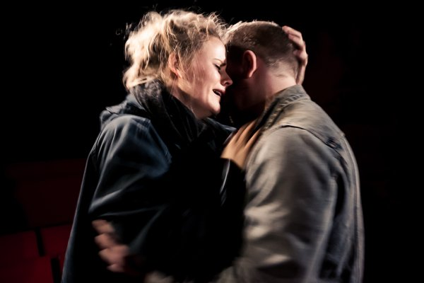 Lizzie Holmes as Mimi in Puccini's  La Boheme , King's Head Theatre, Trafalgar Studios West End | Photo by Scott Rylander